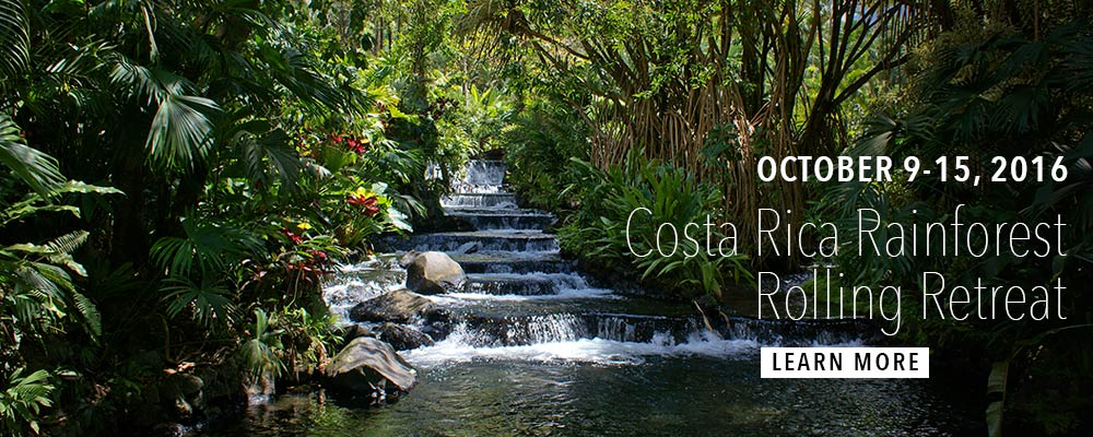 Costa ica Rainforest Body Rolling Retreat
